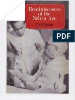 Reminiscences of the Nehru Age by M O Mathai Part 1of2