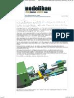 Die Drehmaschine als Bohrständer, oder_br_Vom Einsatz angetriebener Werkzeuge auf Drehmaschinen