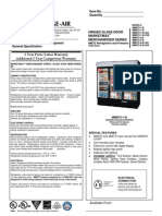 MM72 Refrigerator~Freezer Spec Sheet