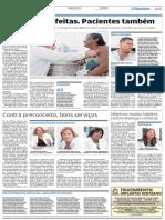 A Tribuna 17 02 2014 Médicas cubanas em Cubatão