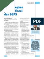 Novo Regime Fiscal SGPS