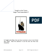 Magic Tree House 17 Tonight on the Titanic RC Preview