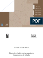 Directorio de Agrupaciones y Microregiones de El Salvador