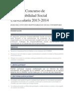 Concurso Proyeccion Social