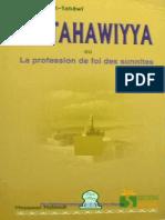 La Tahawiyya Ou La Profession de Foi Sunnite Sharh Aq