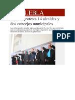 15-02-2014 Milenio.com - Rinden protesta 14 alcaldes y dos concejos municipales.pdf