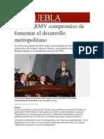 15-02-2014 Milenio.com - Ratifica RMV compromiso de fomentar el desarrollo metropolitano.pdf