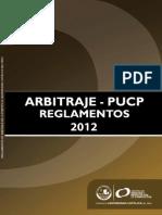 Reglamento Interno de Arbitraje PUCP