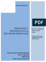 Fomento y Desarrollo Cogniscitivo Por Medio de Las Ciencias.