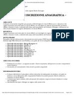 ATTESTATO DI ISCRIZIONE ANAGRAFICA – CONVIVENZA — Portale InformaFamiglie Emilia Romagna