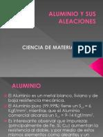 CLASE 7.- El Aluminio y Sus Aleaciones