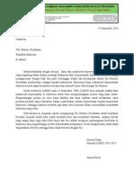 Surat Audiensi Untuk Kemenkes