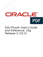 SQL Plus User's Guide and Reference Release 10.2