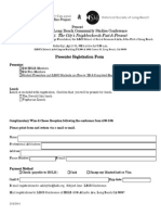 2014 LBCS Conference - Registration Form (Presenter)