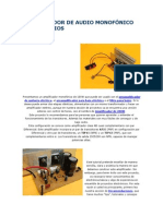 AMPLIFICADOR DE AUDIO MONOFÓNICO DE 100 VATIO1