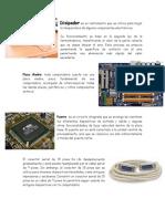 Disipador es un instrumento que se utiliza para bajar la temperatura de algunos componentes electrónicos