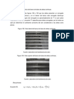 Cálculo teórico del banco de tubos de aletas continuas