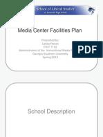 SHS Media Center Facility Use Plan