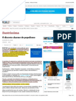 O discreto charme do populismo - 15:12:2013 - Ilustríssima - Folha de S.Paulo
