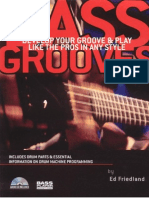 Friedland Ed Bass Grooves Develop Your Groove and Play Like the Pros in Any Style 2004