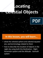 Locating Celestial Objects