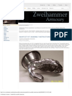 Gauntlet Kit Assembly Instructions - Zweihammer Armoury