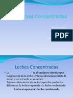 Leches Concentradas