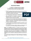 Boletín prensa Resultados PISA 2012