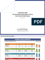 September 2009 Harrisonburg & Rockingham County Real Estate Market Report