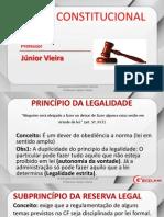 Direito Constitucional - Aula 07 - Princípio da Legalidade e Liberdades