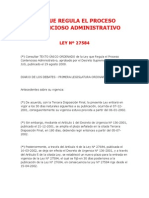 02 - Ley 27584 - Que Regula El Proceso Contencioso Administrativo
