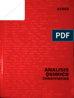 Analisis Químico Cuantitativo - Ayres