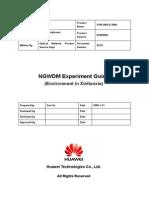 10-OptiX OSN 6800&3800 Experiment Guide (Shenzhen) 2.01