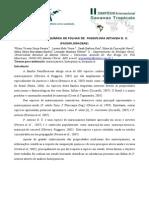Avaliacao Histoquimica de Folhas de Passiflora Setacea D. C. (Passifloraceae)