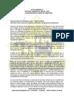 Acta Nmero 4