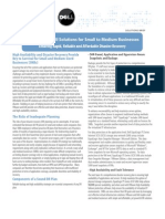 Dell Smb Disaster Recovery Solution Brief