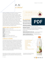 vemma product fact sheet-us