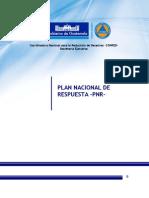 Plan Nacional de Respuesta, CONRED