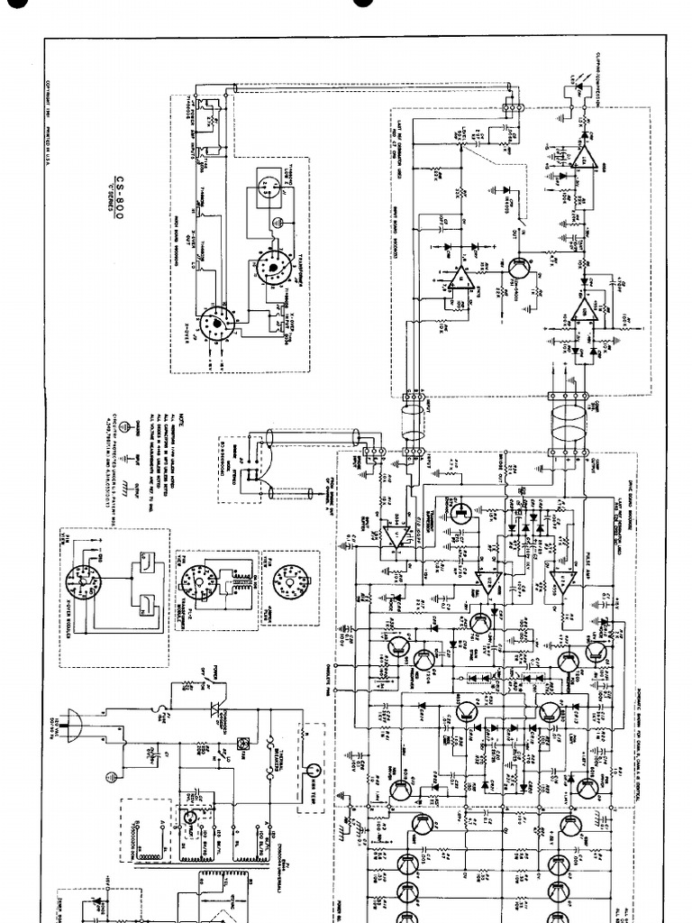 Peavey Power Amplifier Circuit Diagram Schematic Diagrams Audio With Lm3876 Cs 800 Service Manuals Schematics Block And Design