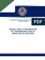 Manual de Organizacion Nacional CONRED