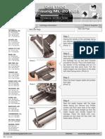 Samsung Ml 1610 _4521 4725 Fml-2010 Xerox Phaser 3117 Cambio de Drum y Recarga