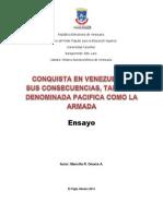 Conquista de Venezuela Ensayo