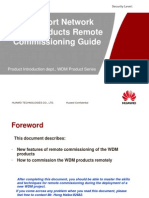 8-WDM Products Remote Commissioning Guide-20090302