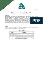 Novatel RF equipment