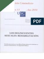 Los Delincuentes Sexuales Rehabilitacixn