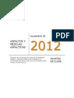 APUNTES ASFALTOS Y MEZCLAS ASFÁLTICAS