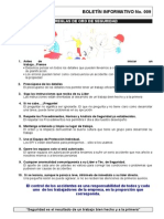 RDP BOL 009 Reglas de Oro