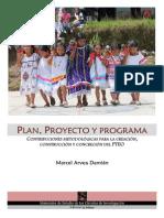 Plan, Proyecto y Programa