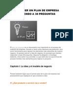 COMO HACER UN PLAN DE EMPRESA RESPONDIENDO A 38 PREGUNTAS.pdf