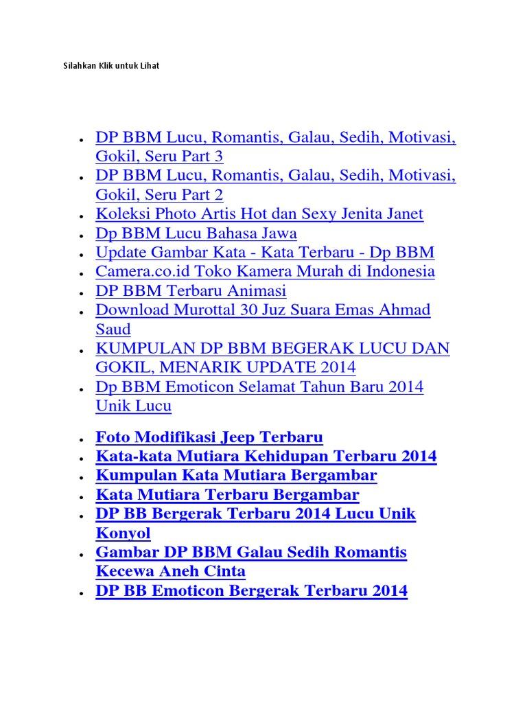 Koleksi Dp Bbm Lucu Thr Bahasa Jawa Kocak Dan Gokil Puzzle